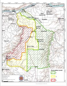 Deschutes River Map on